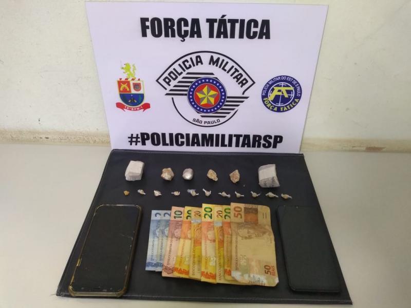 Polícia Militar - Materiais foram apreendidos em Prudente