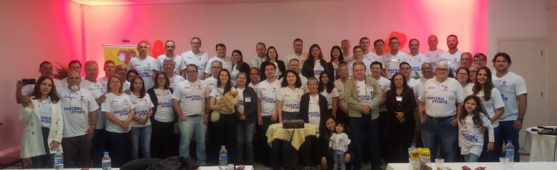 Participantes do Simpósio Matsuda Pet parceria + Forte