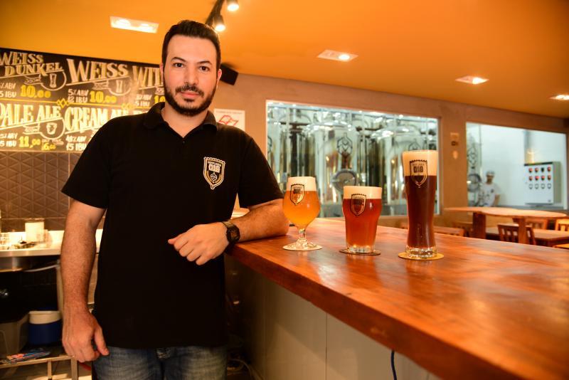 Paulo Miguel:Murilo afirma que o objetivo da marca é introduzir as cervejas artesanais em Prudente