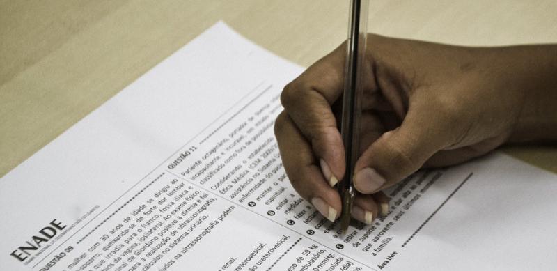 Reprodução/Governo Federal - Exame avalia conhecimentos, competências e habilidades desenvolvidas ao longo do curso