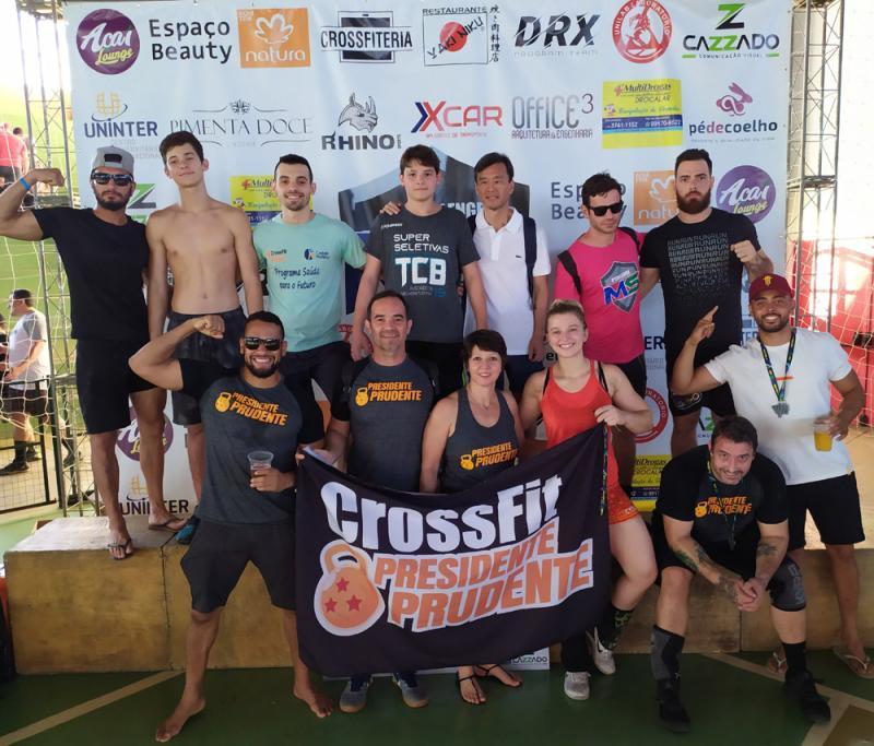 Turma do Crossfit Presidnete Prudente participaram pelo 3o ano consecutivo do Challenge MS, em Três Lagoas-MS e voltaram com vários troféus