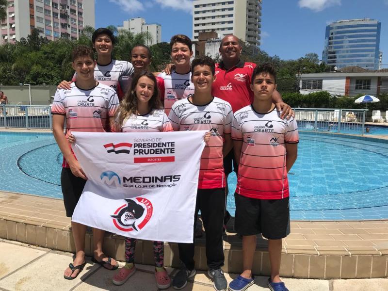 Cedida / Pépe - Equipe não trouxe medalhas, mas tiveram resultados excelentes, em Porto Alegre, conforme Pépe