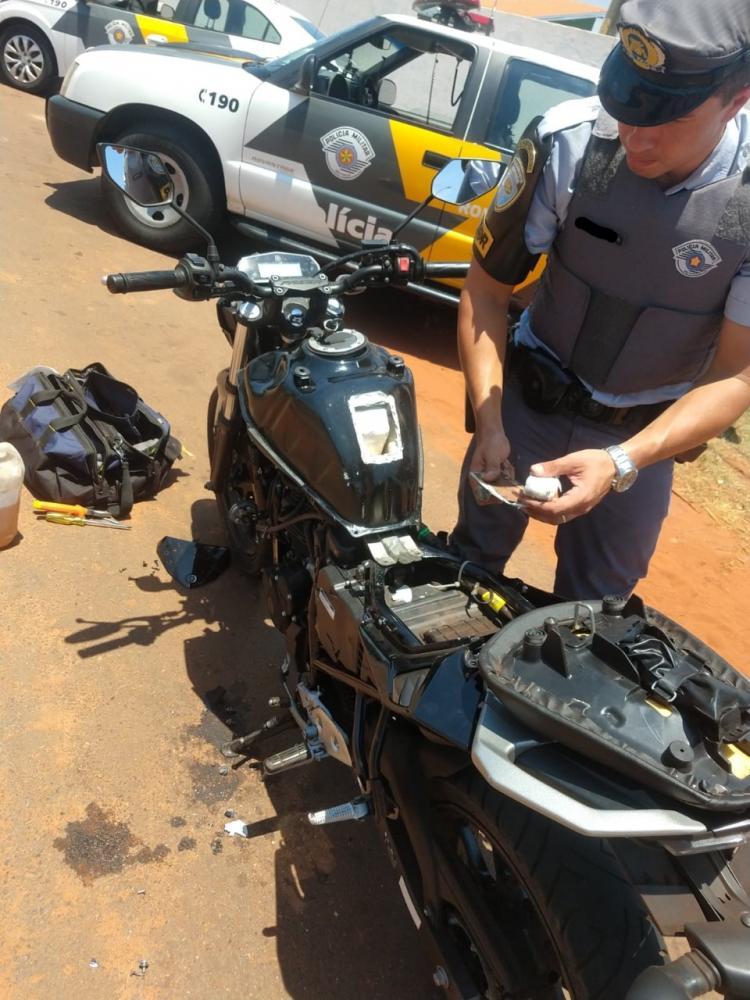 Polícia Militar Rodoviária - Abordagem ocorreu na Rodovia Arlindo Bétio, em Teodoro Sampaio