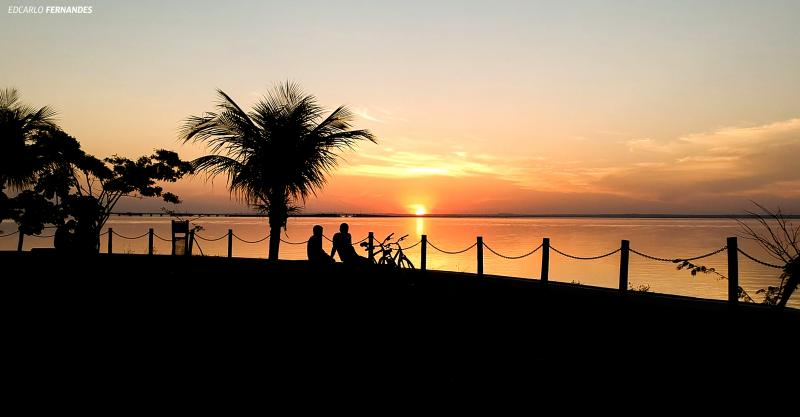 Edcarlo Fernandes:Pôr do sol de Epitácio atrai muitos turistas à cidade
