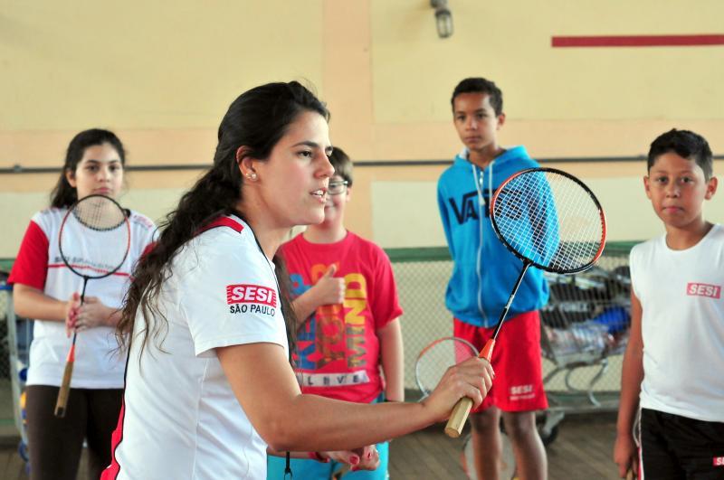 Arquivo/Sesi - Há 6 anos, Mayara vem trabalhando desde a base até o rendimento esportivo no Sesi-SP