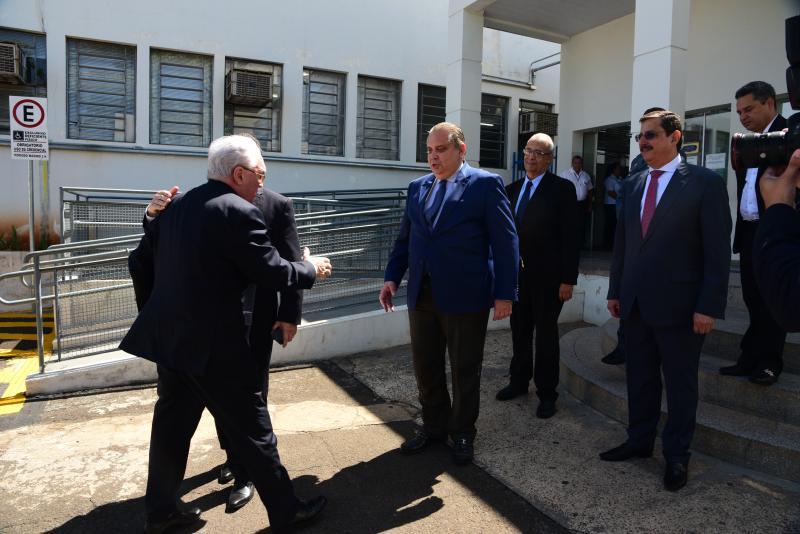 Paulo Miguel - Magistrados dePrudente recebem o presidente do Tribunal de Justiça