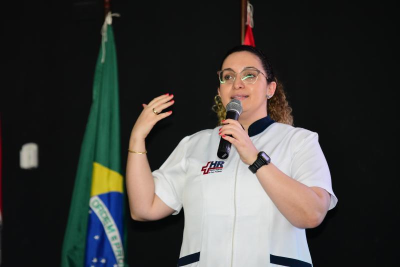 """Paulo Miguel - Rogéria Oliveira: """"""""Todo acolhimento é feito de forma humanizada"""""""""""