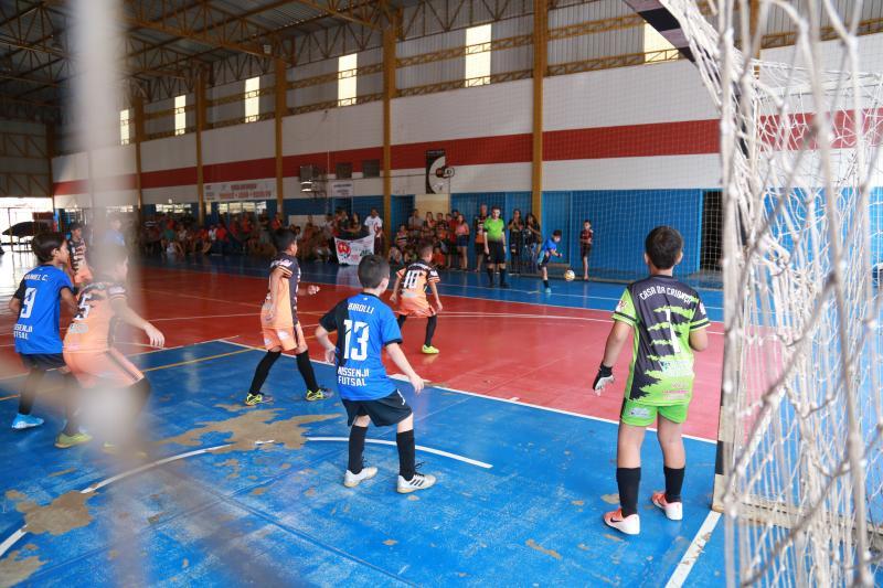 Weverson Nascimento - Além das equipes do sub-9, competição envolveu jogos do sub-11, sub-13, sub-15 e sub-17