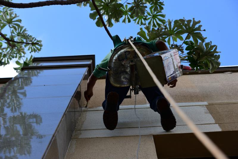 Paulo Miguel - Para profissionais, quando o serviço é no alto, segurança é prioridade