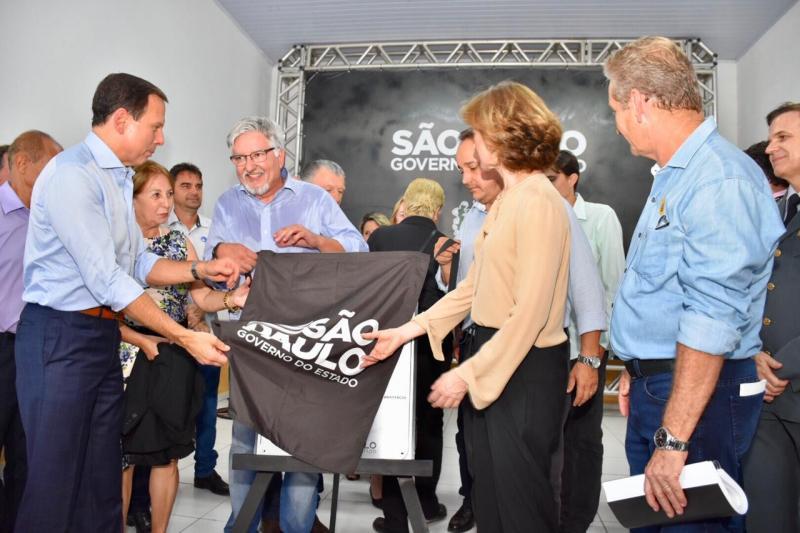 Cedida - Inauguração ocorreu ontem à tarde, e contou com a participação de João Doria
