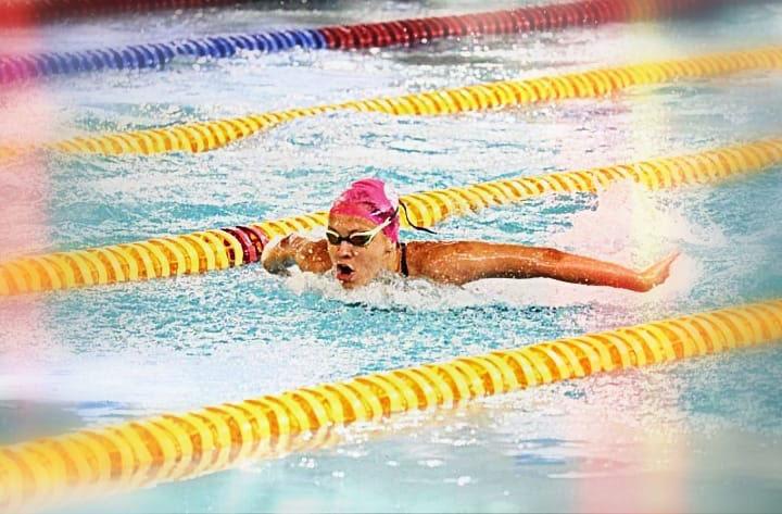 Arquivo/Semepp - Atleta de 16 anos vem se destacando a cada nova competição; hoje ela já compete