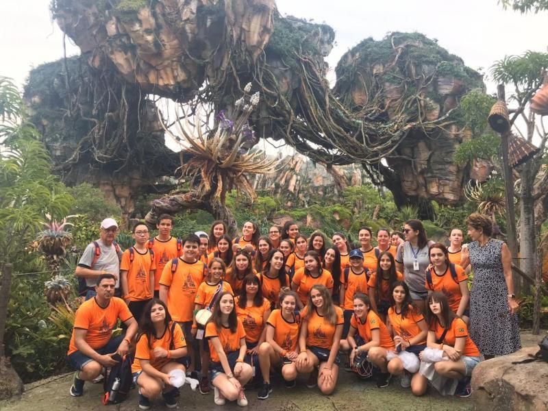 """Grupo da Welingtour confere as maravilhas do """"Mundo de Avatar"""", na Disney"""