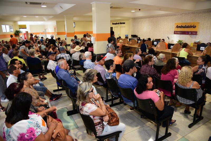 Paulo Miguel - Hospital estima superar os atendimentos do ano passado
