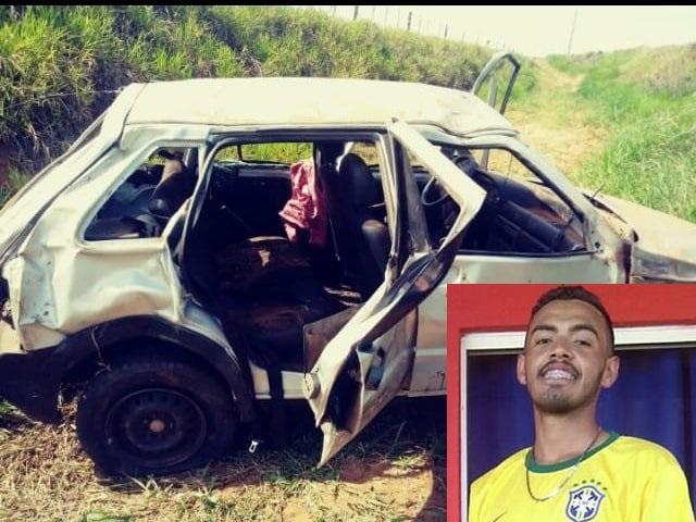 Cedida/Portal Bueno - Acidente ocorreu no km 19 da estrada vicinal Hélio Gomes