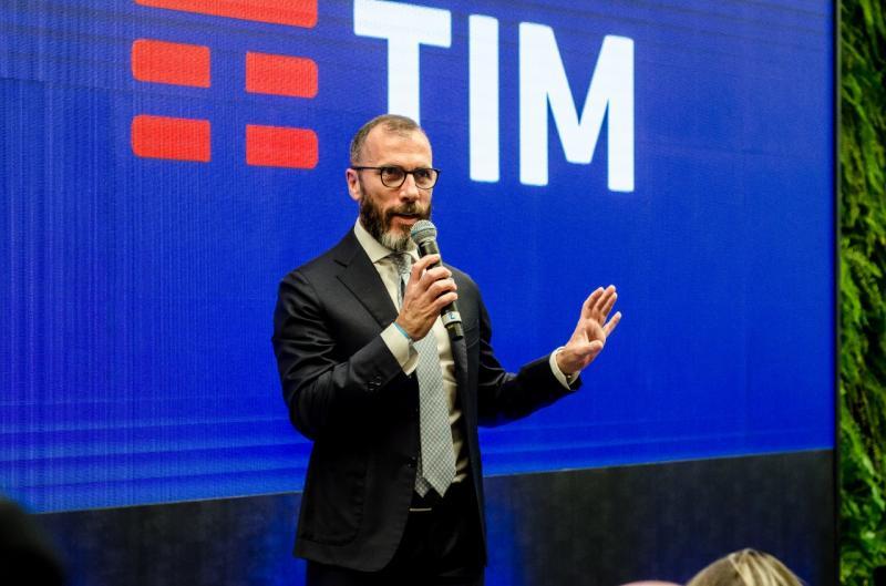 Divulgação - Evento, na capital paulista, foi conduzido por Pietro Labriola, CEO da TIM Brasil