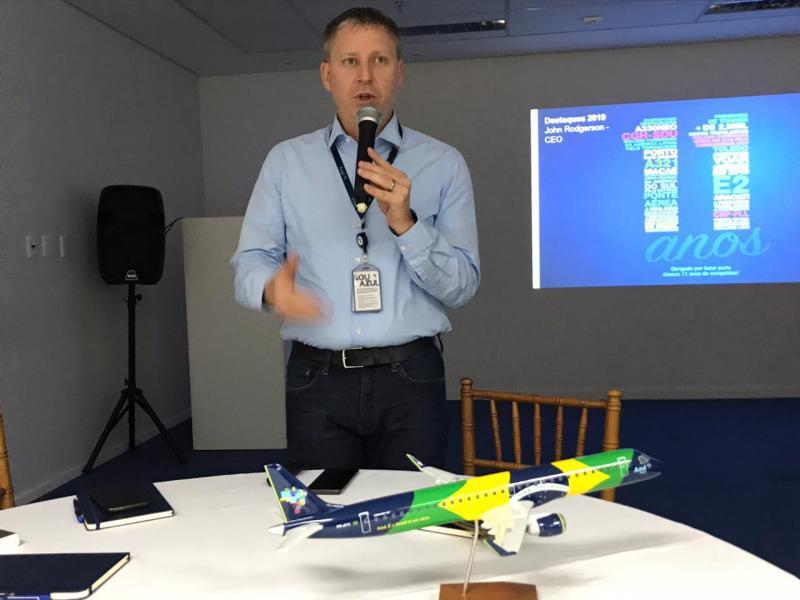 Leandro Nigre - John Rodgerson, presidente da companhia, fala das perspectivas para o próximo ano