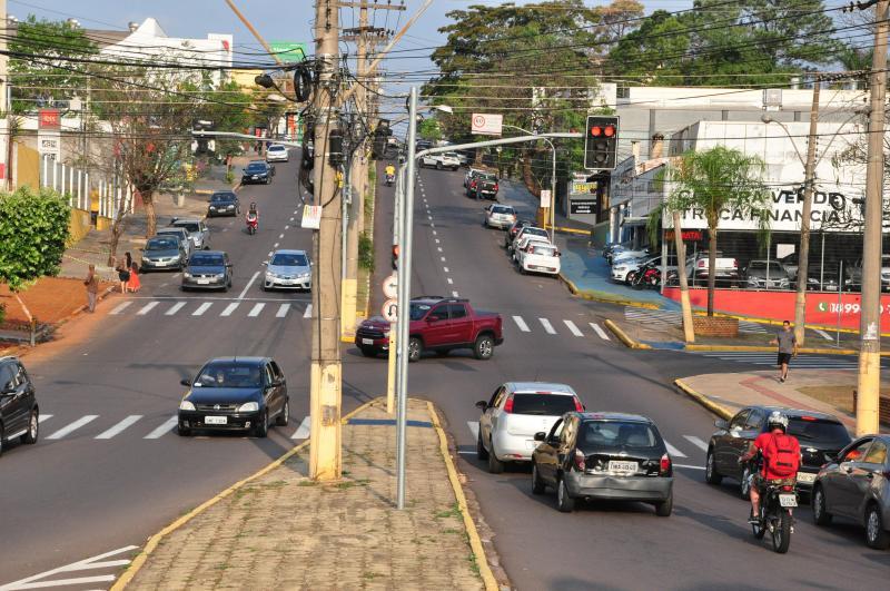 Arquivo - Avenida Manoel Goulart é faz parte dos 17 pontos que receberão radares em Prudente