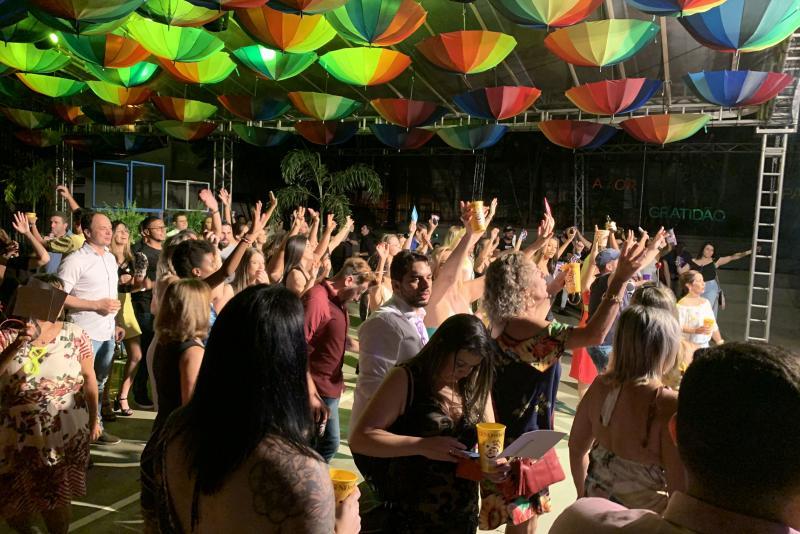 Foto: Festa OAB for ALL ocorreu na Casa da Advocacia e teve pessoas de toda a comunidade