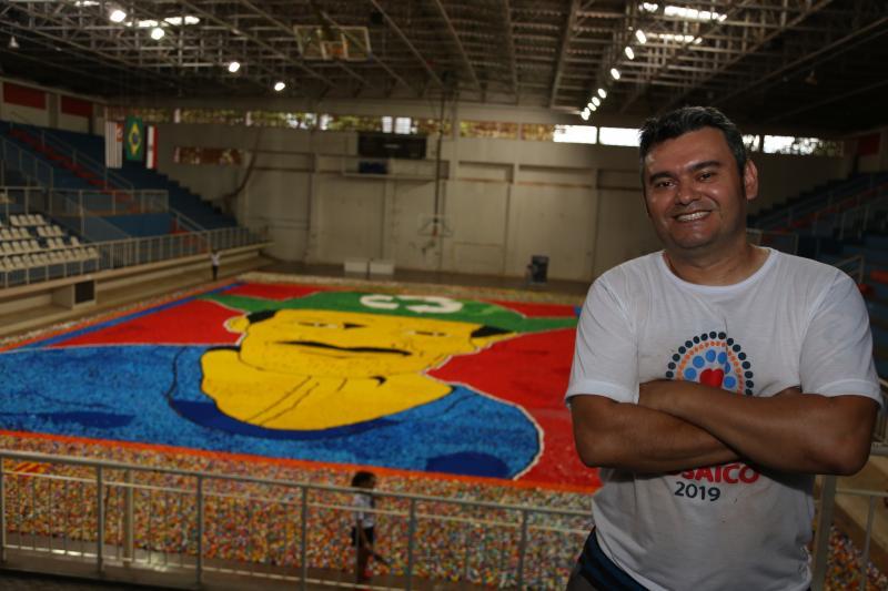 Jean Ramalho:Itamar Xavier foi o idealizador dos trabalhos com o mosaico em Presidente Prudente