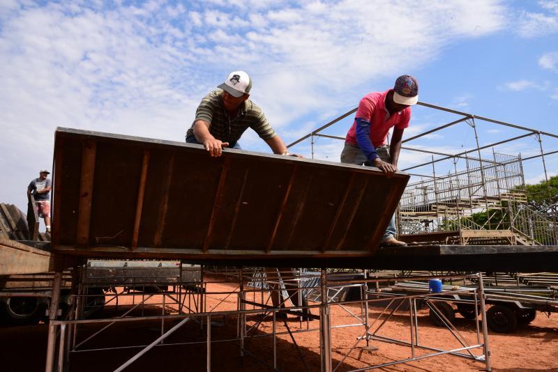 Arquivo - Preparativos para a Expo Prudente, realizada anualmente em setembro, seguem a todo vapor