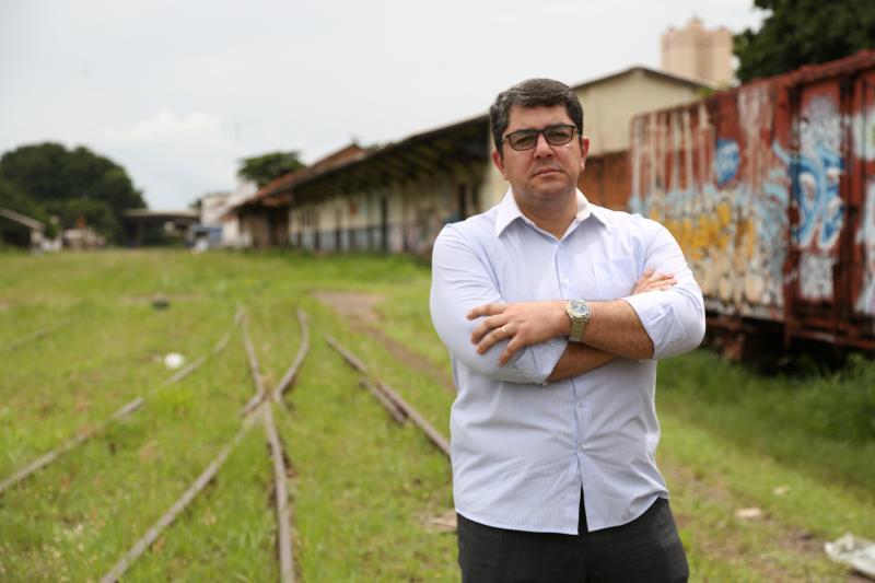 Jean Ramalho - Marcos Lucas foi à Brasília propor a construção do ramal como obrigação da nova outorga