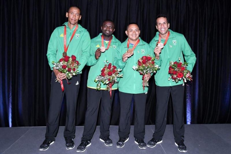 Arquivo - Após 11 anos, revezamento 4x100 m brasileiro recebeu os bronzes dos Jogos Olímpicos de Pequim-2008