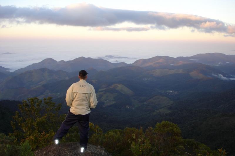 Estância fica a 1.500 metros de altitude e está cercada pelas montanhas da Serra da Mantiqueira