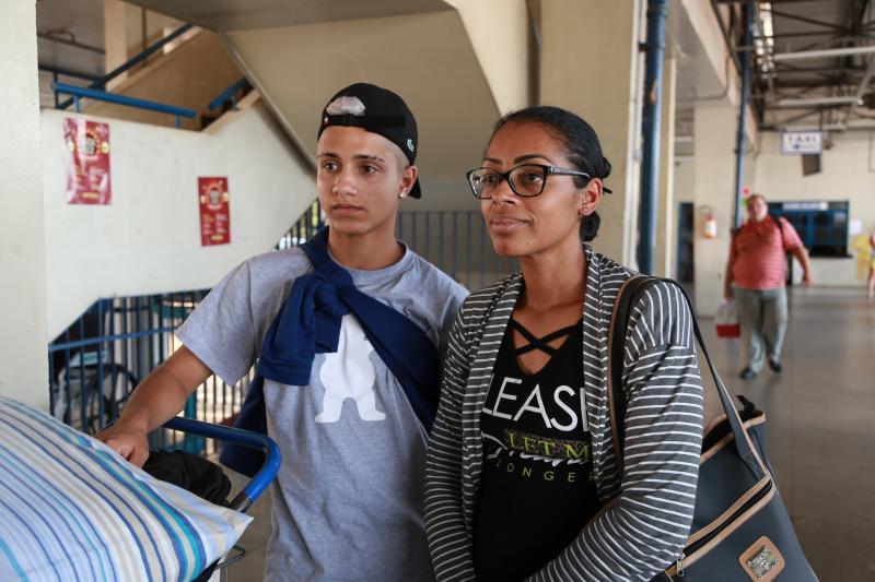 Isadora Crivelli - Mãe e filho seguiram para Bataguassu