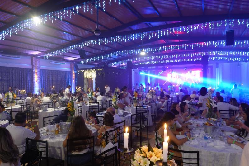O novo salão de festas do Terra Parque Eco Resort: capacidade para 400 pessoas