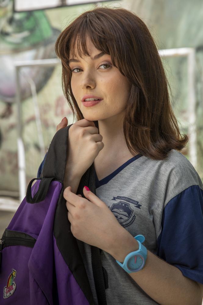 Globo/Victor Pollak - Andressa, vivida por Monique Bourscheid, é uma das novas personagens de