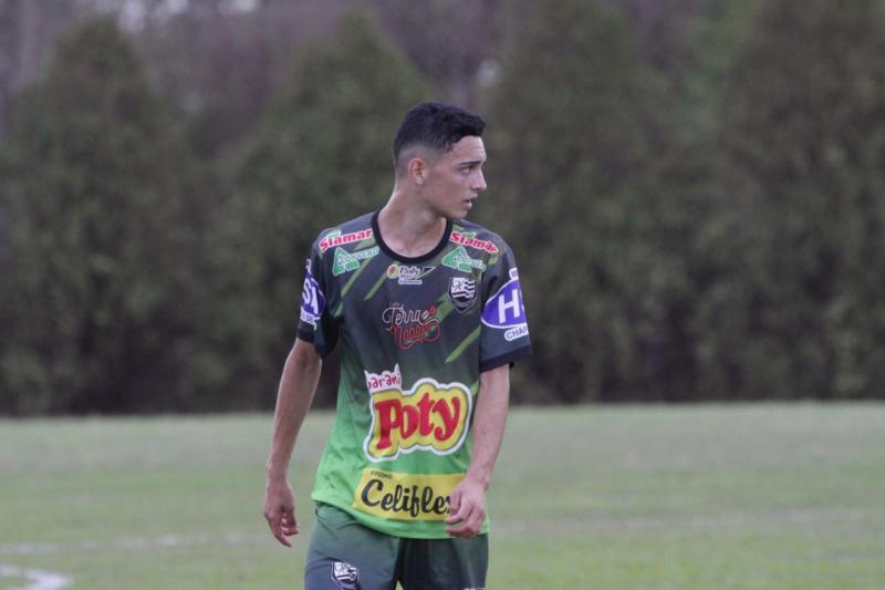 Rafael Bento/Divulgação - João Pedro diz que Copinha é uma grande oportunidade para todos os jovens jogadores