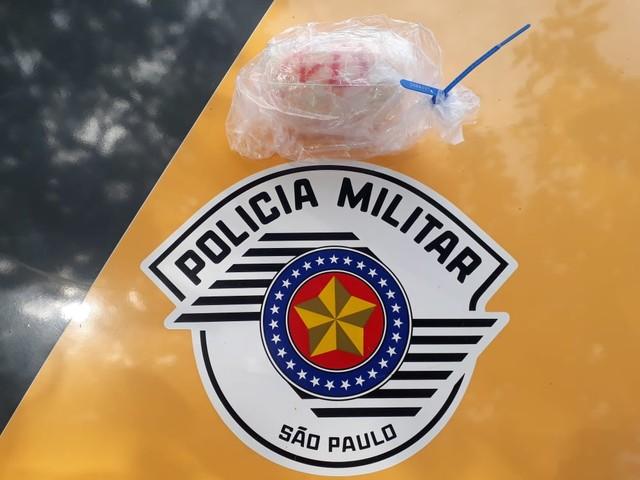 Polícia Militar Rodoviária - Mulher foi presa em flagrante com 265 g de cocaína