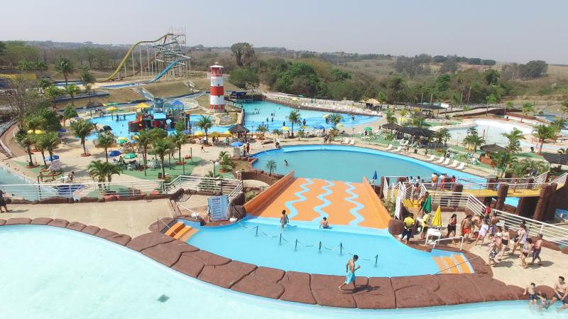 Cedida:Cidade da Criança tem o maior parque aquático da região de Presidente Prudente
