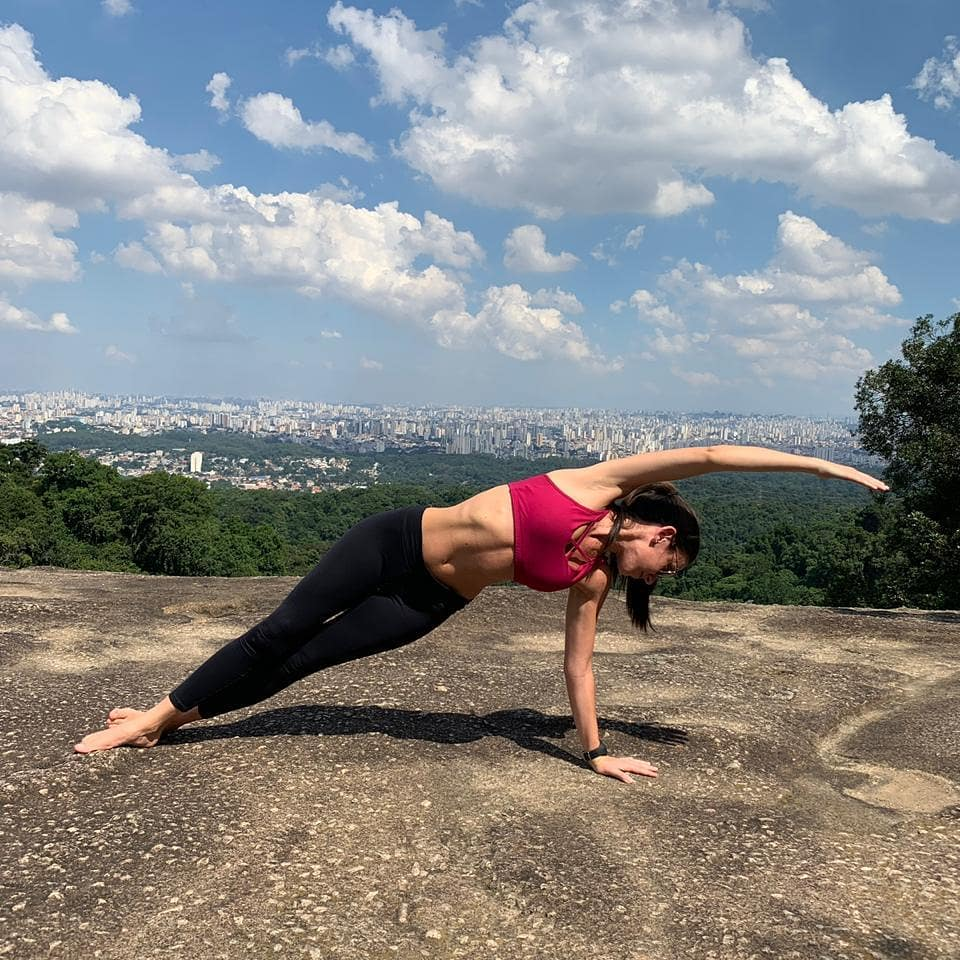 Cedida - Daniela Grampa será a instrutora do pilates suspenso do programa Sesc Verão essa semana