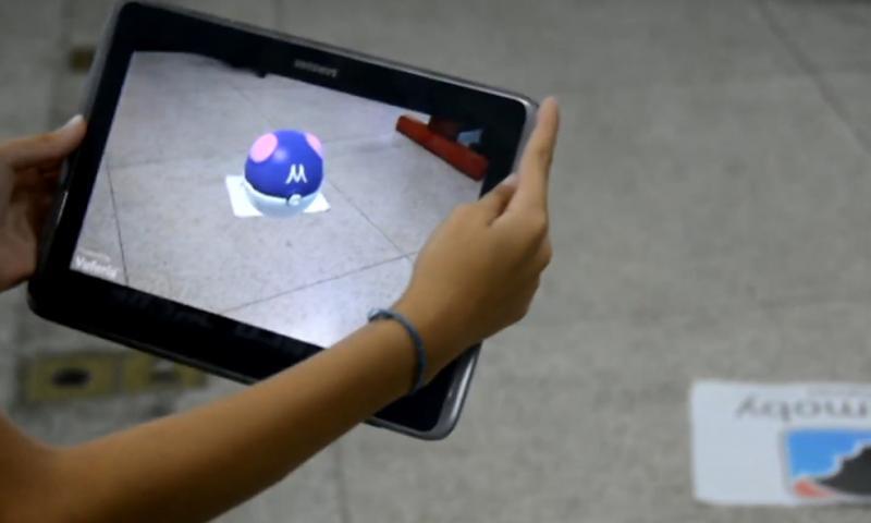 Cedida - Game mostra interatividade entre o mundo real com o virtual