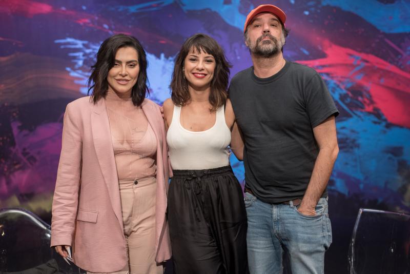 """Divulgação/Ana Paula Amorim - Cleo Pires e Mauro Lima são convidados de Andréia Horta em nova temporada de """" O País do Cinema"""""""