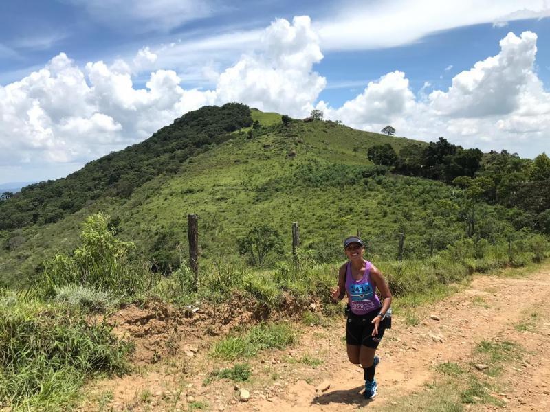 """Fábio Fujimoto/Cedida - Geane, sobre a Ultramaratona Brasil 135: """"Essa prova é superação"""""""