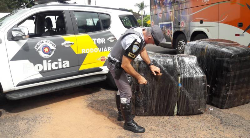 Polícia Militar Rodoviária - Fiscalização de trânsito resultou na apreensão de mercadorias