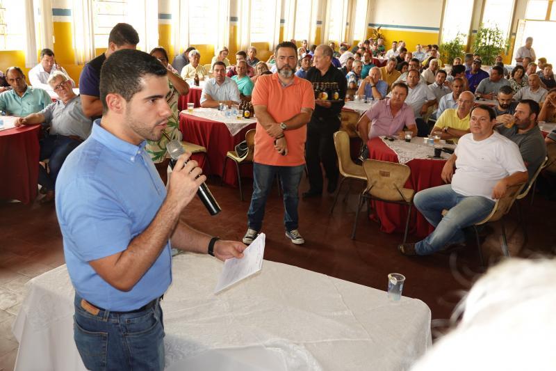"""Cedida - Deputado federal Alexandre Leite: """"Estou à disposição da região"""""""