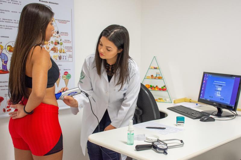 Marcelo Gomes/Unoeste - Clínica de atendimento nutricional para avaliações e ultrassom faz parte da estrutura do curso