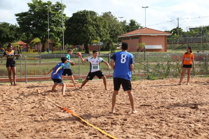 Isadora Crivelli - Equipe da Semepp treinou detalhes na areia do Balneário da Amizade na manhã de ontem