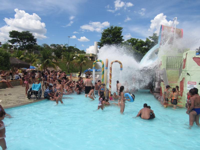 Parque Aquático/Cedida - Parque Aquático é uma das opções de lazer disponíveis em Prudente