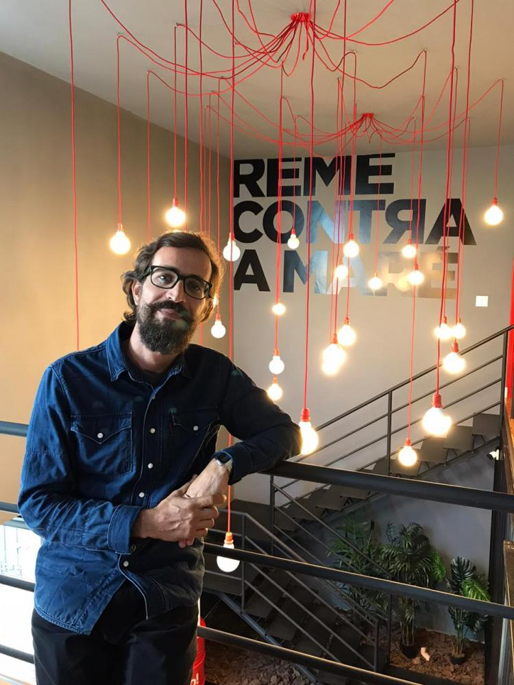 Cedida/Camila Begini - Publicitário Bruno Salgueiro, formado pela Unoeste, é o novo diretor de criação da agência Raro!