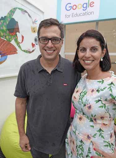 Tati Campos Sonvezo e Ricardo Strabelli Sonvezzo, diretores da Cultura Inglesa de Presidente Prudente