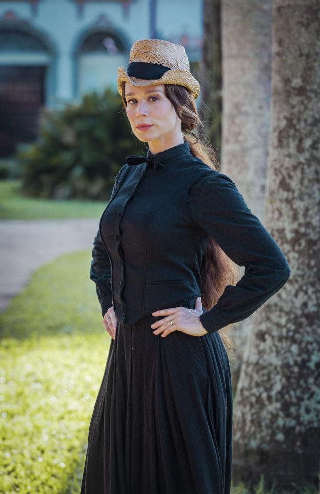 """Paulo Belote / TV Globo - Em """"Nos tempos do Imperador"""", Mariana Ximenes será Luísa, a Condessa de Barral"""