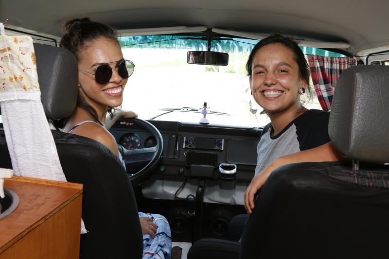 Weverson Nascimento - Marcela e Nicole iniciaram a trip em setembro de 2019, com roteiro de 12 mil km a seguir