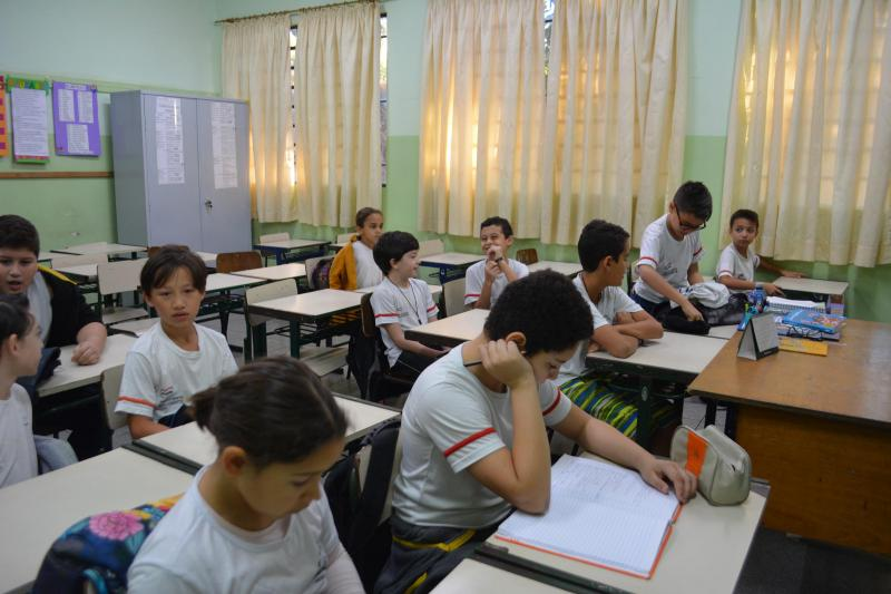Cedida - Crianças do ensino municipal retornam na terça-feira às escolas