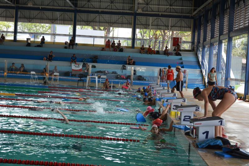 Secom:Todas as vagas para as aulas de natação foram preenchidas ontem