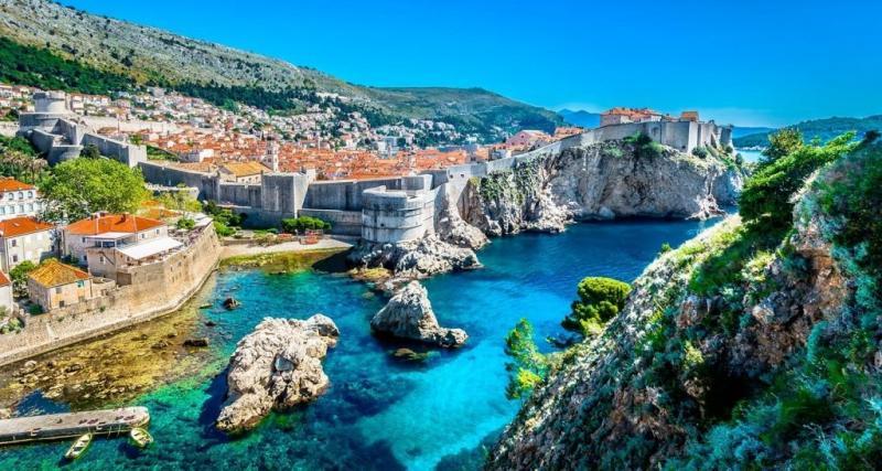 A cidade medieval de Dubronick, na Croácia: um dos destinos mais belos do leste europeu será visitado por passageiros da Companhia de Viagem, em agosto