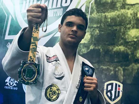 Foto: Cedida - Lucas Porto coleciona medalhas de pódios de vários campeonatos